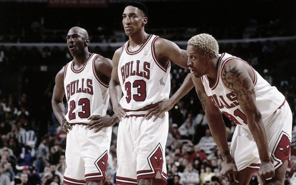 Jordan, Pippen y Rodman, cuando no importaba la edad   Foto: NBA