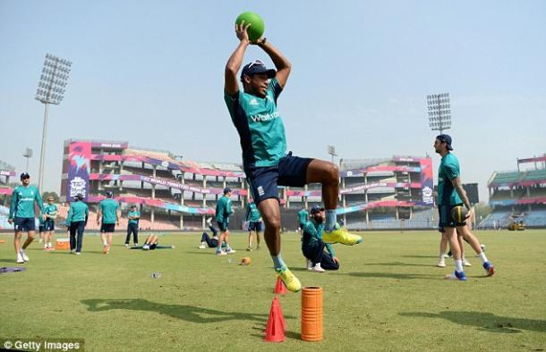 England train ahead of the semi-final (photo: Getty Images)