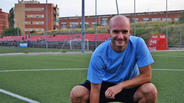 Jordi Ferrón posando   Fotografía: futfem.cat