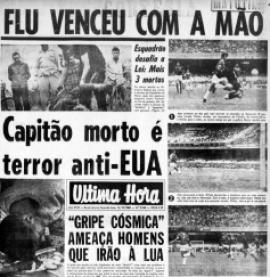 Jornal da época destaca partida