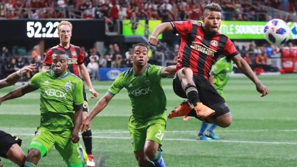 Josef Martínez continues to score goals for fun in the MLS | Source: The Canadian Press