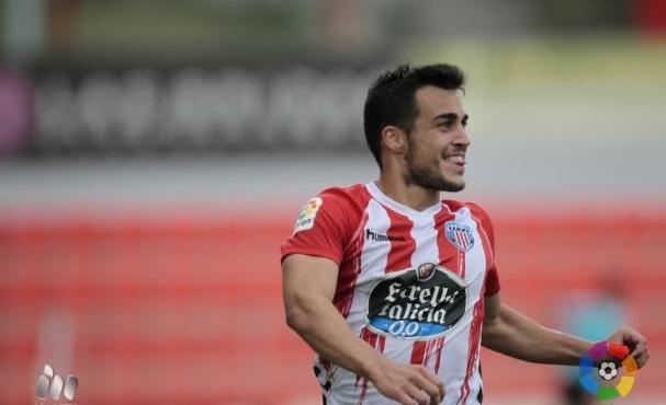 Joselu, máximo goleador de Segunda División.  Fuente: La Liga