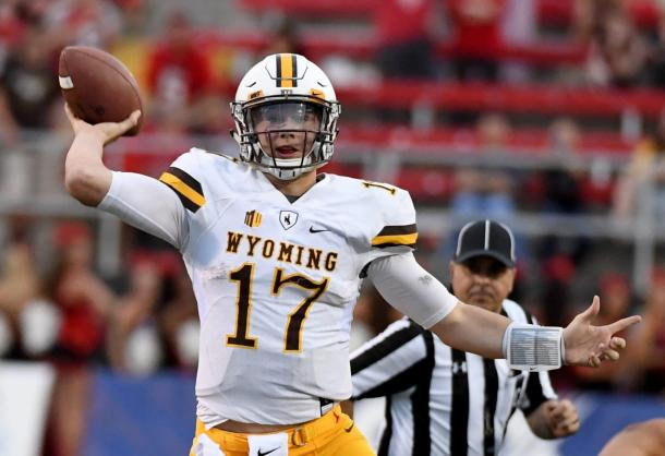 Like all of the quarterbacks in this class, Josh Allen has the chance to go first overall. | Ethan Miller, Getty Images