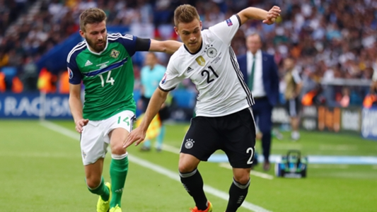 Kimmich in action against Northern Ireland | Photo: Goal / Getty