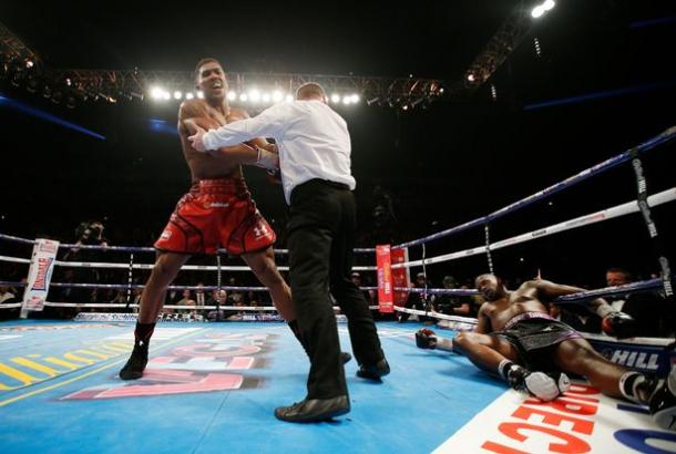 Joshua beat Whyte in his most recent bout