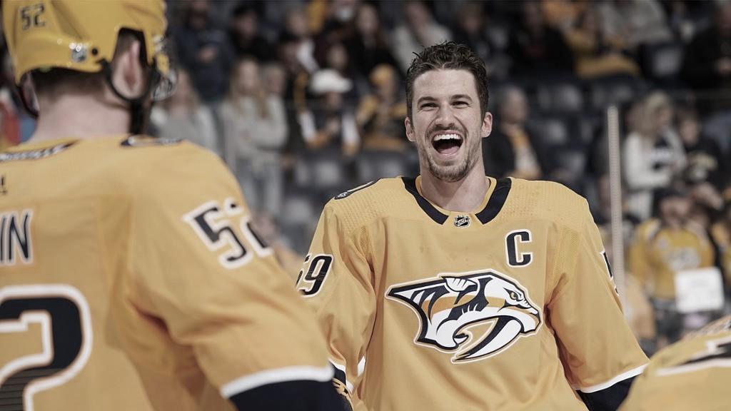 Roman Josi vive un momento dulce en su carrera | Foto: NHL.com