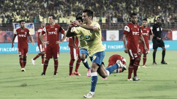 Josu en su etapa como jugador del Kerala Blasters indio. | Foto: goal.com/ISL