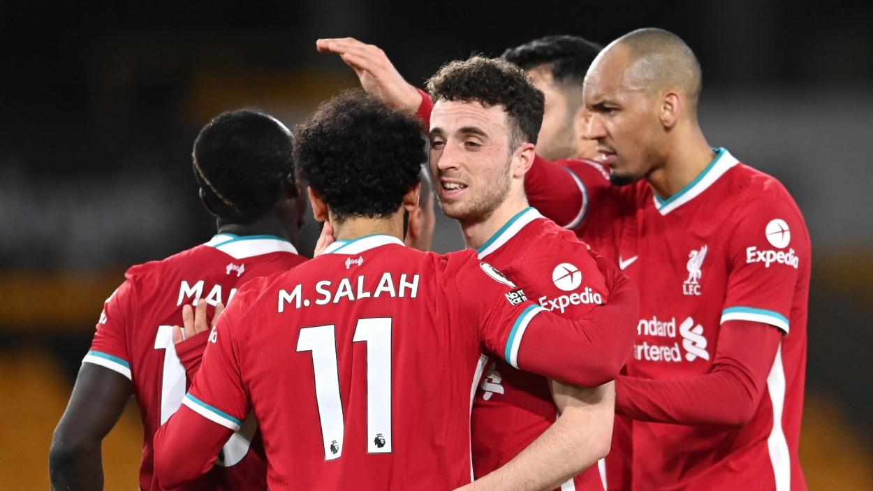 Celebración del 0-1 / Foto: Liverpool FC
