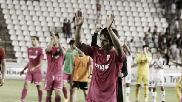 El serbio Jovanovic celebra la victoria (FOTO: LaLiga)