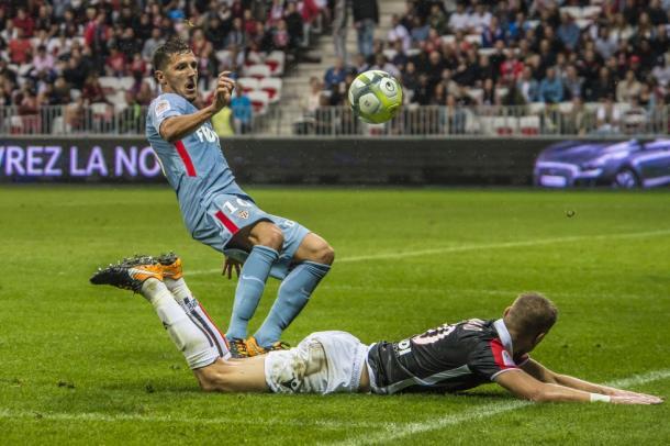 Stevan Jovetic debutó con el club del Principado el pasado sábado en Niza. | FOTO: ASMonaco.com