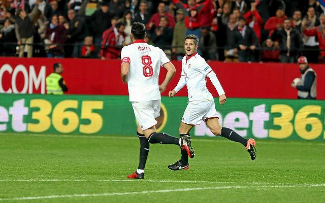 Debut de Stevan Jovetic en Copa del Rey | Foto: Sevilla FC