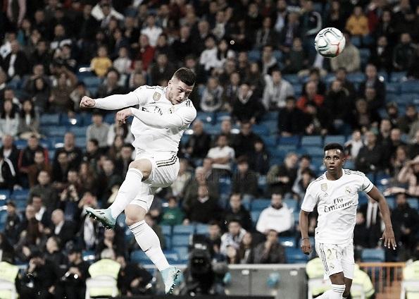 Luka Jovic buscará su primer gol del 2020 en una final   Foto: Real Madrid