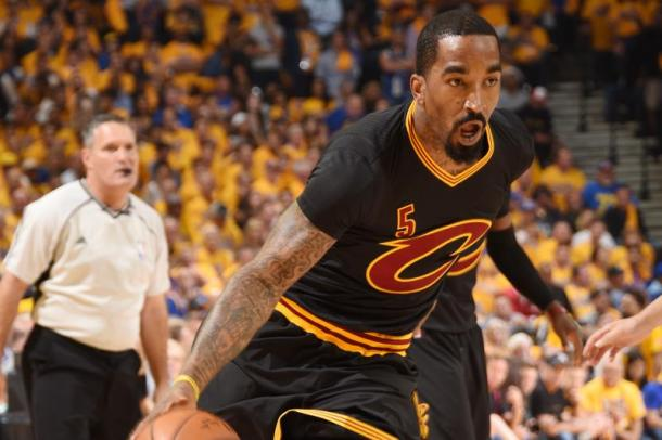 J.R. Smith will need to get going and what better time than the NBA Finals. Photo: Andrew D. Bernstein/Getty Images