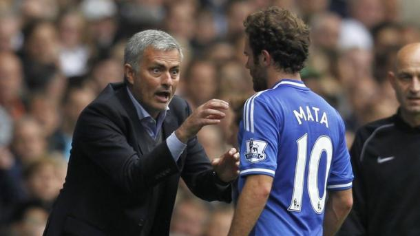 Mourinho sold Mata during their time at Chelsea together | Photo: Getty