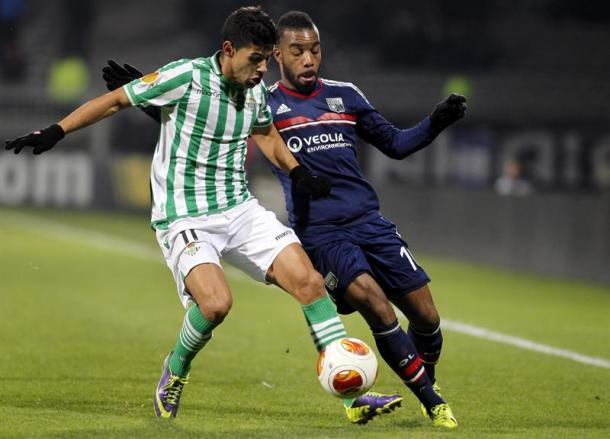 Juanfran during his Real Betis days (Photo: Getty Images)