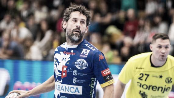 Juanín García por Copa de Campeones esta temporada | Foto: ademar.com