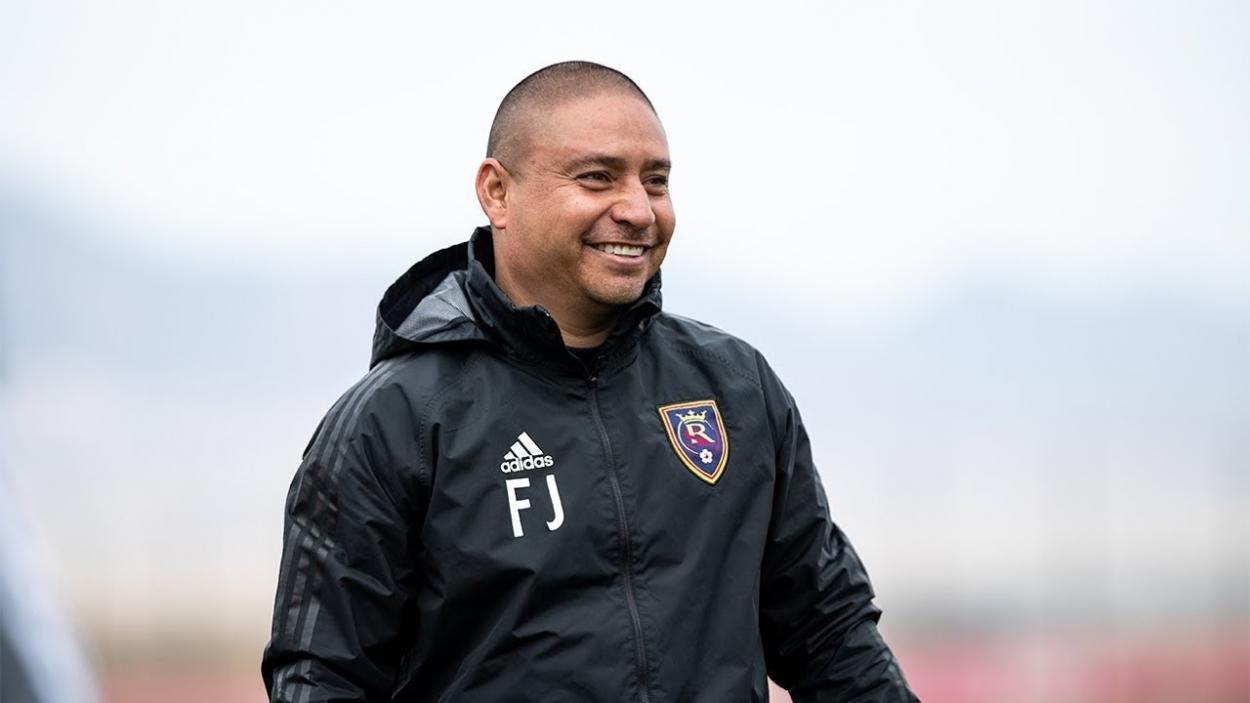 Juarez durante un entrenamiento con RSL (mlssoccer.com)