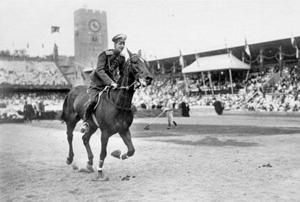 Dimitri Pawlowitch en Estocolmo 1912. Foto todo-olimpiadas.com
