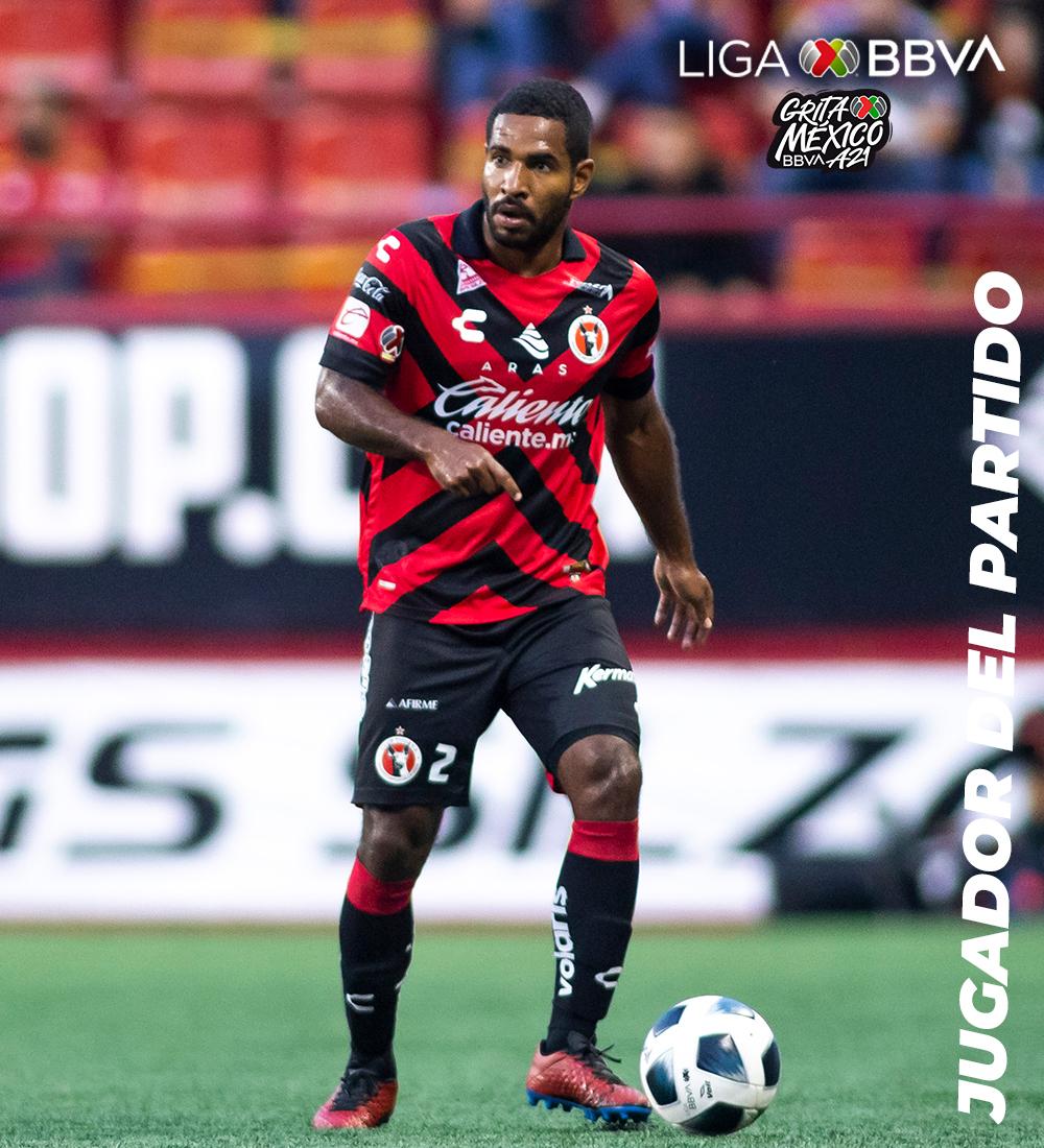 jugador del partido. Foto: Liga MX