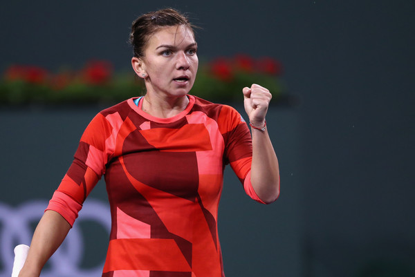 Halep reached back-to-back quarterfinals in Indian Wells and Miami last month. Photo credit: Julian Finney/Getty Images.