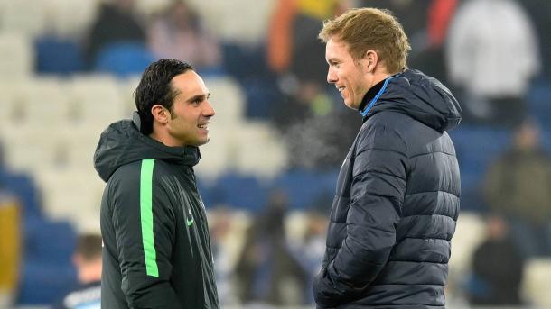 Nouri e Nagelsmann, giovani tecnici a confronto: subito Hoffenheim-Werder. | Fonte immagine: Sportschau