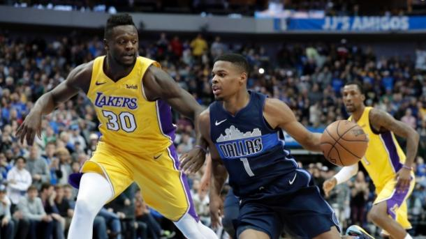 Los Mavericks tienen la vista puesta en Julius Randle. | Fotografía: The Canadian Press