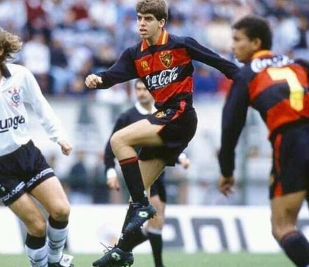 Juninho Pernambucano dá seus primeiros passos no Sport (Foto: Reprodução / Arquivo pessoal)