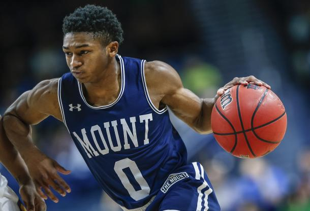 Robinson is again the star for the Mount as he seeks to finish his college career in the NCAA Tournament/Photo: Michael Hickey/Getty Images