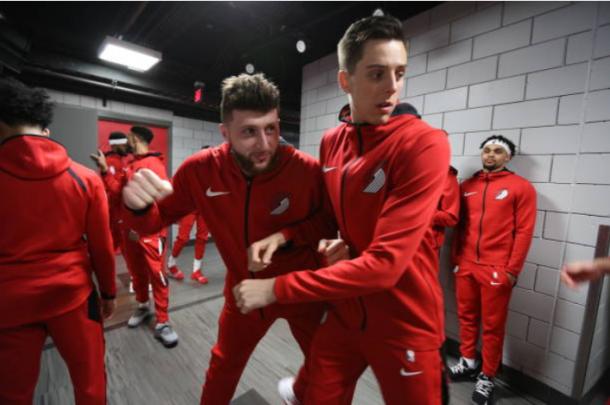 Nurkic y Collins estaban a punto de volver de sus lesiones | Foto: Getty Images