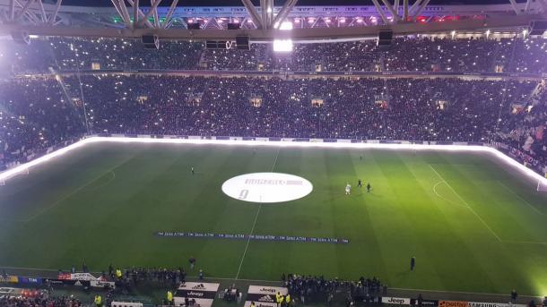 L'Allianz Stadium prima del match | twitter @juventusfc