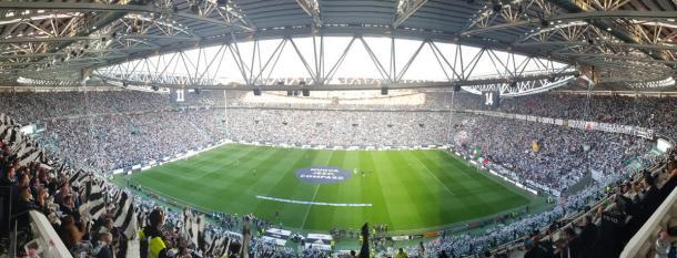 Lo stadio prima del match   twitter