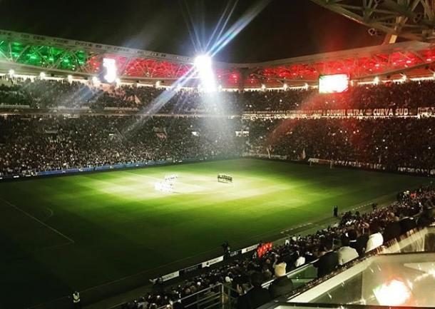 L'Allianz Stadium prima del match   twitter