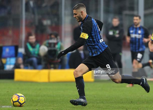 Mauro Icardi maximo artillero de la Serie A / Foto: gettyimages