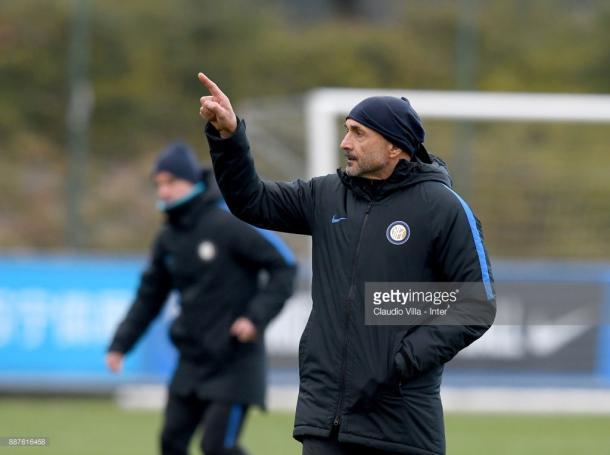Luciano Spalletti dirigiendo uno de los entrenamientos previos al encuentro / Foto: gettyimages