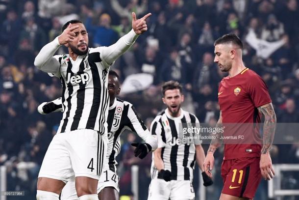 Mehdi Benatia fue el goleador ante la Roma / Foto: gettyimages