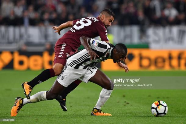 Ultimo encuentro entre Juventus y Torino que terminó 4-0 / Foto: gettyimages