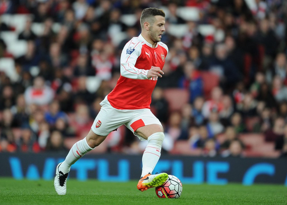 Wilshere was energetic and effective throughout his 65 minute spell at the Emirates on Friday evening, infront of plenty of intrigued supporters. | Photo: Getty