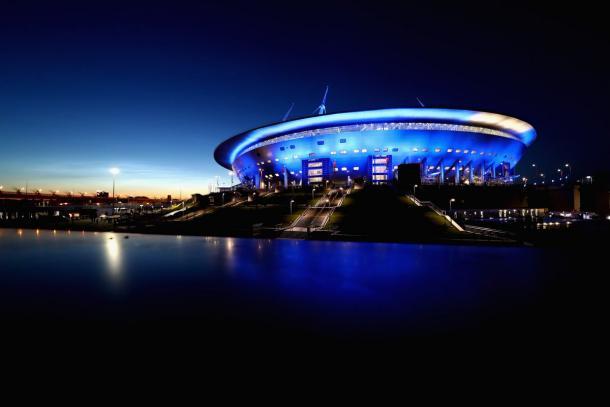 Saint Peterburg Stadium, el escenario del encuentro | Foto: @FIFAWorldCup