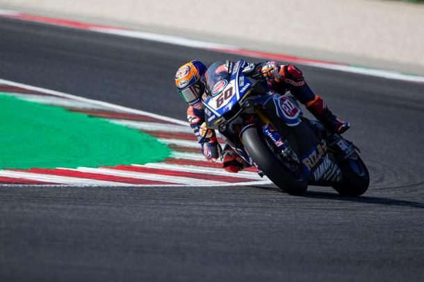 Michael van der Mark, segundo en Misano | Foto: Yamaha Racing
