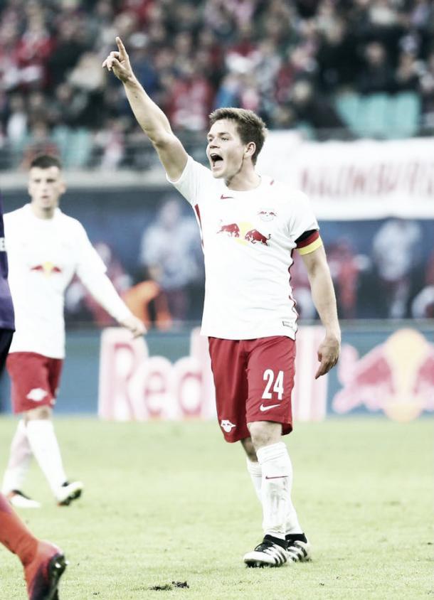 Kaiser, jugador récord del Leipzig | Fuente: Facebook Dominik Kaiser
