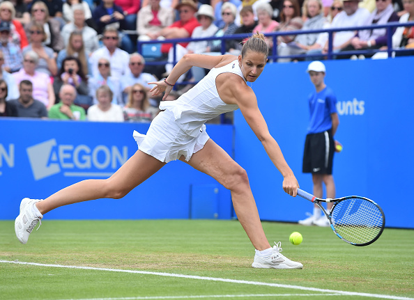 The Czech was in devastating form today (Photo by Glyn Kirk / Getty)