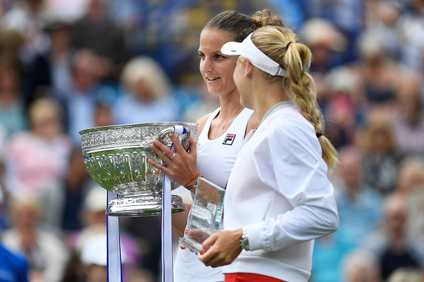 The two finalists will be in good form ahead of Wimbledon (Photo by Mike Hewitt /; Getty)