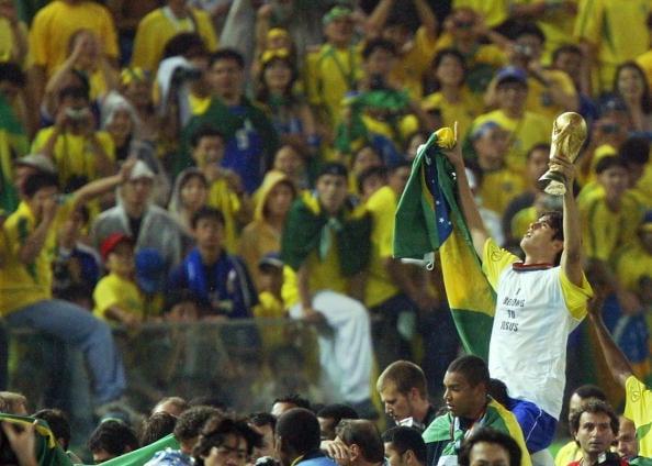 Kaká ganhou a Copa do Mundo aos 20 anos de idade (Foto: Pedro Ugarte/AFP/Getty Images)