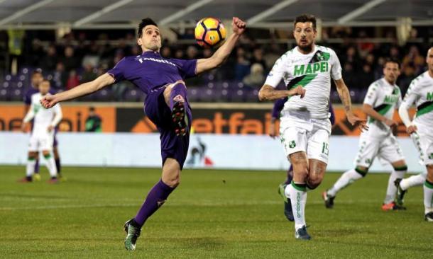 Nikola Kalinic, Fiorentina-Sassuolo 2-1: calciomercato.com