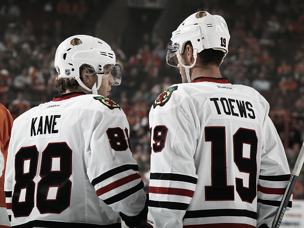 It goes without saying that Patrick Kane and Jonathan Towes are the nucleus of the Chicago Blackhawks