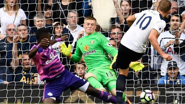 Il goal decisivo di Kane all'andata, www.premierleague.com