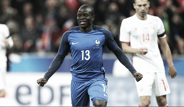 Kante is now a French International after his performances for Leicester (Photo: Jean Catuffe / Getty Images)