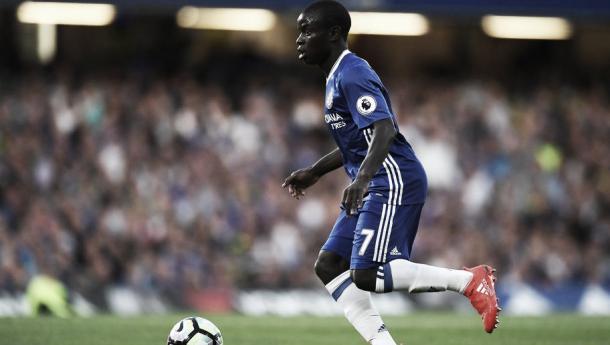 N'Golo Kanté ha conseguido triunfar en la Premier League.   FOTO: Chelseafc.com