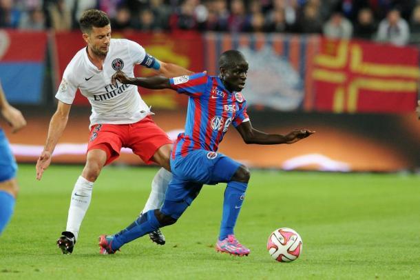 En el Caen, Kanté enfrenta al PSG. (Foto: Getty Images)