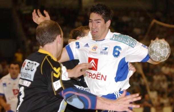 Con menos de 20 años Karabatic ya era líder en el Montpellier ganador de la Champions. Foto: L'équipe.